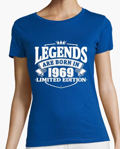 Camiseta las leyendas nacen en 1969