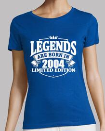 las leyendas nacen en 2004