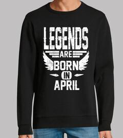 las leyendas nacen en abril