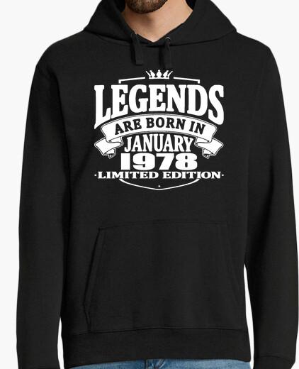 Jersey las leyendas nacen en enero de 1978