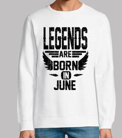 las leyendas nacen en junio