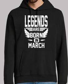 las leyendas nacen en marzo