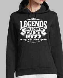 las leyendas nacen en marzo de 1977