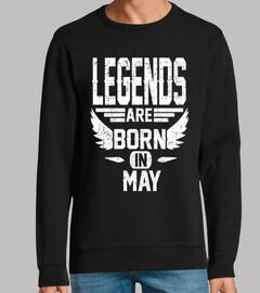 las leyendas nacen en mayo