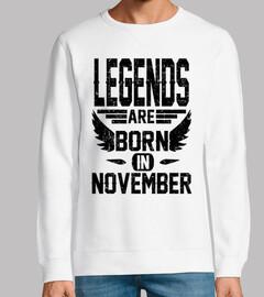 las leyendas nacen en noviembre