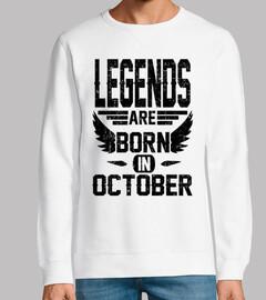 las leyendas nacen en octubre
