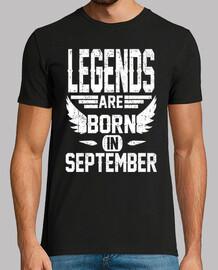 las leyendas nacen en septiembre