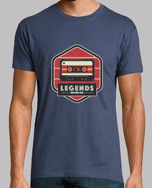 las leyendas nunca mueren - cassette de música