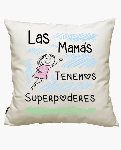 Funda cojín Las Mamas Tenemos Superpoderes
