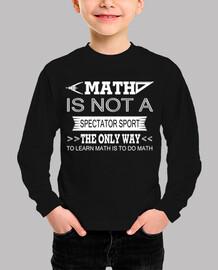 las matemáticas no son un deporte para