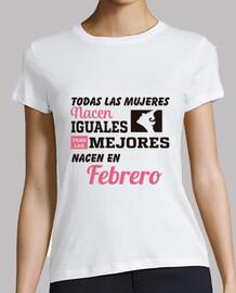 Las mejores mujeres nacen en febrero