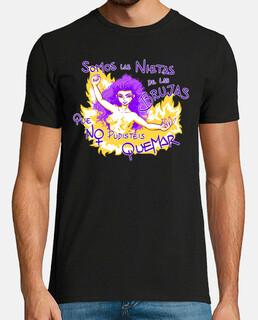 Las Nietas de las Brujas - camiseta hombre
