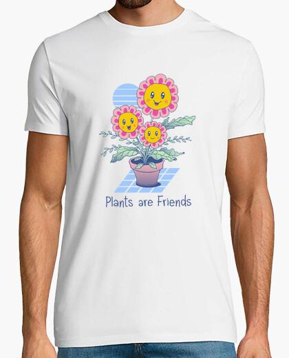 Camiseta las plantas son amigos camisa...