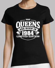 las reinas nacen en 1984