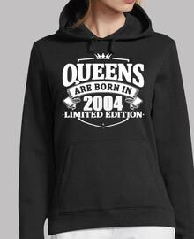 las reinas nacen en 2004