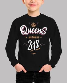 las reinas nacen en 2018