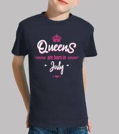 las reinas nacen en julio