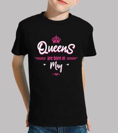 las reinas nacen en mayo