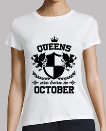 las reinas nacen en octubre