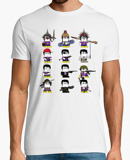 Camiseta las salpicaduras