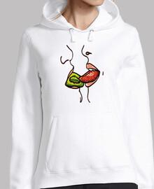 lascivious kiss of fruit