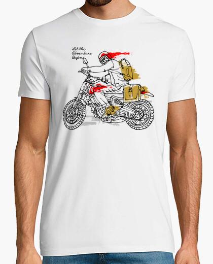 T-Shirt lass das Abenteuer beginnen