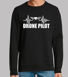 latido del corazón del dron