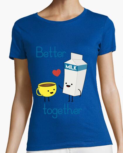 T-shirt Latte e caffè