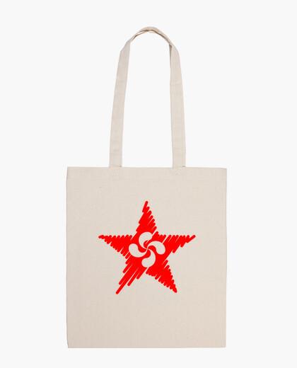 Bolsa Lauburu Estrella Roja Trazos 2