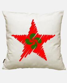 lauburu red star strokes
