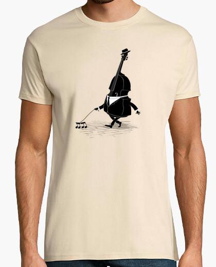 T-Shirt laufender bass