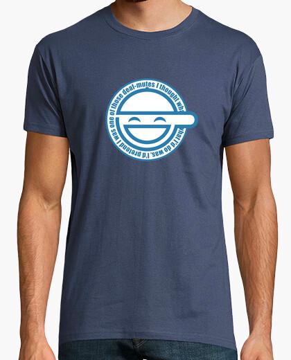 Camiseta Laughin man