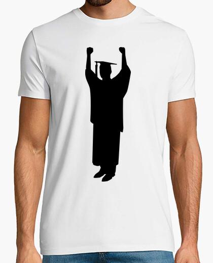 T-shirt laurea studente