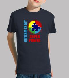 l'autisme est mon super pouvoir