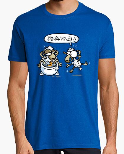 T-shirt lavaggio delicato