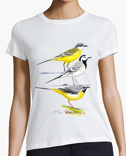 T-shirt lavandaie ragazza bianca
