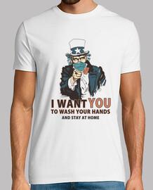 lavarse las manos camisa hombre