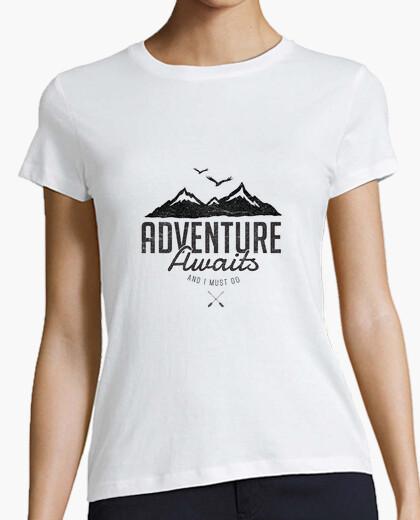Tee-shirt l'aventure attend
