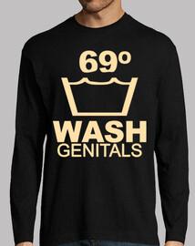 laver les parties génitales