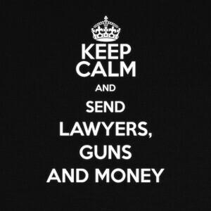 Camisetas Lawyers, Guns and Money Warren Zevon Bla