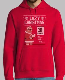 Lazy Christmas! - Ugly Christmas Sweater