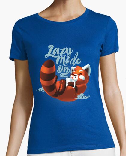 Camiseta Lazy mode ON t-shirt w