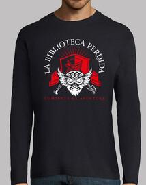 lbp chemise - homme, manches longues, bleu