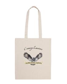 lbp shoulder bag - 100% cotton