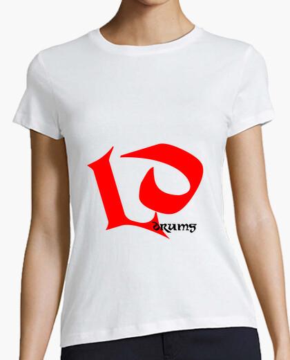Camiseta LD Drums - Blanco