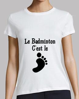 Le Badminton c'est le pied !