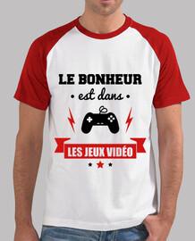 Le bonheur,jeux vidéo,gamer,gaming