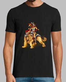 le cavalier de lion