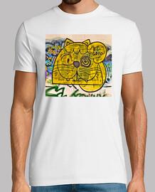 le chat graffiti - t-shirt homme