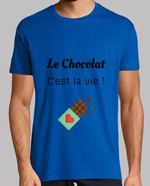 Le chocolat c est la  vie - Humour